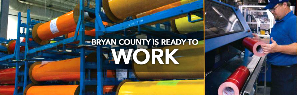 Bryan County is Ready to Work